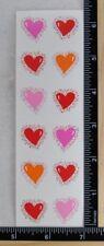 Mrs Grossman TWINKLE HEARTS REFLECTIONS Stickers