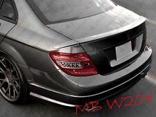Mercedes Benz W204 BRABUS Design Heckspoiler Lippe Heck ABS
