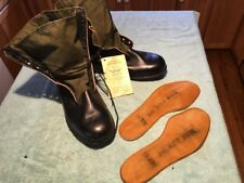 NOS 1967 US Army Military Combat Jungle Boots 13XW BATA Tropical Spike Resistant