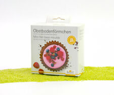 RBV Birkmann 6er Set Slikon Obstbodentörtchen 2 x 12 cm