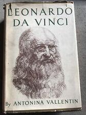 LEONARD DE VINCI TRAGIC PURSUT OF PERFECTION- 1938 BY ANTONINA VALLENTINp