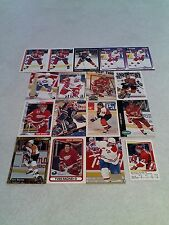 *****Yves Racine*****  Lot of 100 cards.....38 DIFFERENT / Hockey