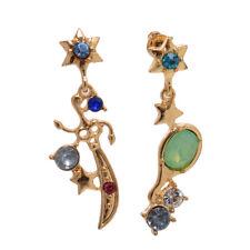 Anime Sailor Moon Cosplay Earrings 25 Anniversary Uranus Neptune Ear Pendant