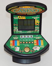 Deluxe 5 in 1 Virtual Casino Mini Arcade Machine Game Table Top Excalibur R7093