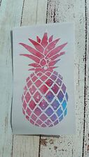 Pineapple car decal Tumbler decal 3.5 height Space, Beach, Summer life Lilly.