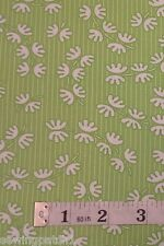 Green Fabric swirl sewing patchwork fat quarters 100/% cotton swirls 22255-15