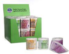 6 Stück Toilettenpapier Rollen Euroschein 50€ 100€ 500€ Partyspaß Klopapier