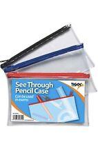A5 Flat Exam Pencil Case Assorted colour