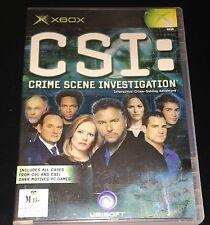 Xbox - CSI  [Crime Scene Investigation ]