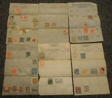 c1930s stamp approval pages - Moseley/Fennell-St Louis, Payn- La California