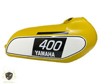 YAMAHA 250 DT / 400 DT Enduro, Yellow Painted Tank 1975 to 1977 |Fit For