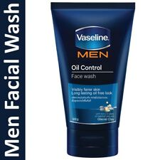 Vaseline Men 100g Oil Control Face Wash with micro droplet jelly & glacial clay
