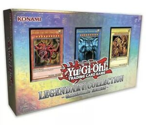 YuGiOh! Legendary Collection 1 Gameboard Box - Egyptian God Cards! Fully Sealed!