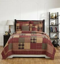 **Country Primitive** Rutherford Quilted Bedding Set - 3pc. King