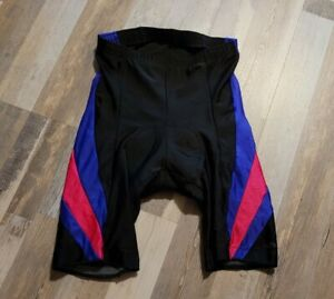 Vintage Vtg Hind Lightweight Bicycle Cycling Padded Shorts Mens L Multicolor