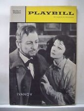 IVANOV Playbill VIVIEN LEIGH / JOHN GIELGUD Tryout BOSTON Flop 1966