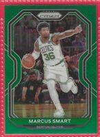 2020-21 Panini Prizm Marcus Smart Green Prizm #97 Boston Celtics