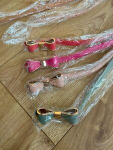 Women waist belt,ladies waist belt faux leathr skinny KNOT FLOWER belt UK Seller