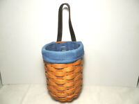LONGABERGER 2001 Small Gatehouse Basket Combo w Liner and Protector EUC