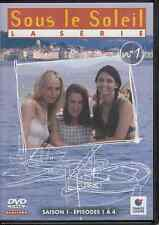 DVD ZONE 2 SERIE *SOUS LE SOLEIL* SAISON 1 DVD N° 1 EPISODES 1 A 4
