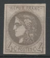 """FRANCE STAMP TIMBRE N° 41 Bd """" CERES BORDEAUX 4c GRIS FONCE """" NEUF xx TB  N809"""