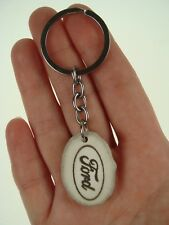 Key Chain Pendant from Natural Moose Antler Horn with Car Brand Ford  NEW * 912