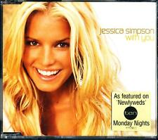 JESSICA SIMPSON WITH YOU 3 TRACK AUSTRALIAN PRESSING CD - EXCELLENT - VGC