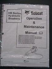 Bobcat Skid Steer HB Series Hydraulic Breakers Operation & Maintenance Manual 06