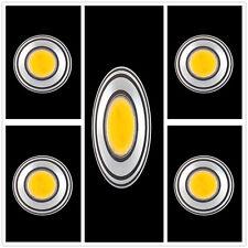 5x Warm White G4 COB SMD LED 2W Lamp Spotlight Spot Light Bulbs 12V 2800-3300K
