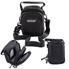 Black Camera Shoulder Case Bag For Olympus SH-2 /STYLUS 1S TG-Tracker TG