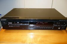 *VINTAGE* Sony CDP-297 Audio CD Compact Disc Player Deck Digital Track Music pod