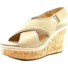 Sandalias y chanclas de mujer de color principal beige Ante Talla 39