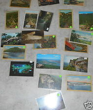 LOT OF 20 CHATTANOOGA TN VINTAGE POSTCARDS OCHS LOOKOUT MTN SUNSET ROCK INCLINE
