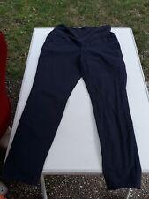 Umstandshose von MAMA H&M Größe 42 97% Baumwolle 3 Elastan Waschbar dunkelblau