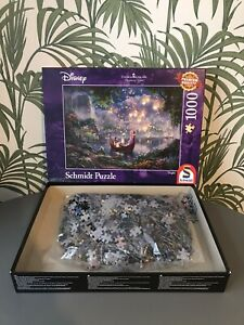 Schmidt Speile Thomas Kinkade Disney Rapunzel Tangled Puzzle - 1000 Pieces