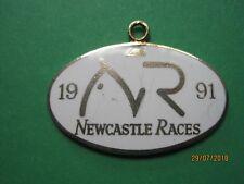 Newcastle Horse Racing membres badge - 1991 très bon état!!!