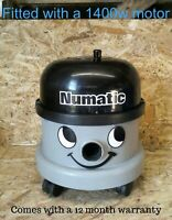 Numatic Henry Grey 1400w Uprated Bagged Vacuum Cleaner Tools And Bags. Warranty