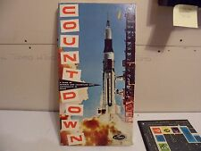 Vintage 1967 Lowe Count Down Space Board Game NEVER USED NASA, ACCESSORIE SEALED