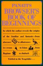 Panati's Browser's Book of Beginnings by Panati, Charles; Hudson, Russ
