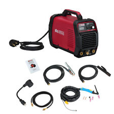 TIG-205 200 Amp HF-TIG Torch/Stick/Arc Welder 115 & 230V Dual Voltage Welding