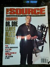 The SOURCE Magazine #82 July 1996 Dr Dre Leaves Death Row RARE Vintage Hip-Hop