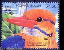 Solomon Island MNH, Moustached Kingfisher, Birds Beak,  -C84