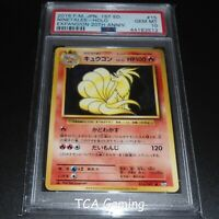 PSA 10 GEM MINT Ninetales 015/087 JAPANESE CP6 HOLO RARE Pokemon Card