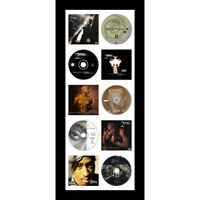 Large CD/ Music Cover Tupac Shakur Memorabilia Picture Frame - White Mount