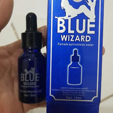 BLUE WIZARD - Female Herbal Stimulant enhancing sex drive, very effective
