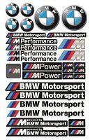 BMW Performance Motorsport MPower Stickers Car Bike Decals M3 M5 X5 X6 M2 MPower