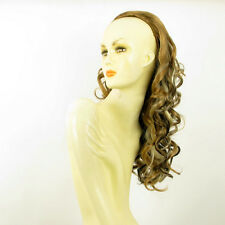 DT Half wig HairPiece clear light coppery blond and chocolate 22.8 :16/15613h4