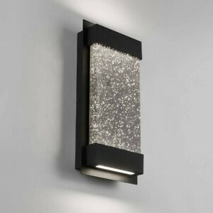 Artika Champagne Wall Mounted LED Light Fixture 50,000 Hrs 380 Lumens Dimmable