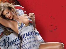 Miss Budweiser Beer  Refrigerator Magnet