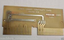 Fidia EQBUS Grant Continuity Card SGR1 C9435 Board SGRI